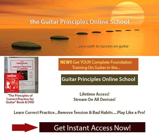 guitar principles online school