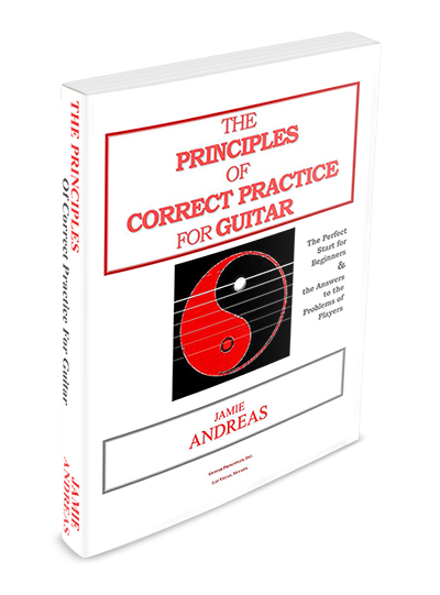 The Principles Of Correct Practice For Guitar Hard Copy 3095