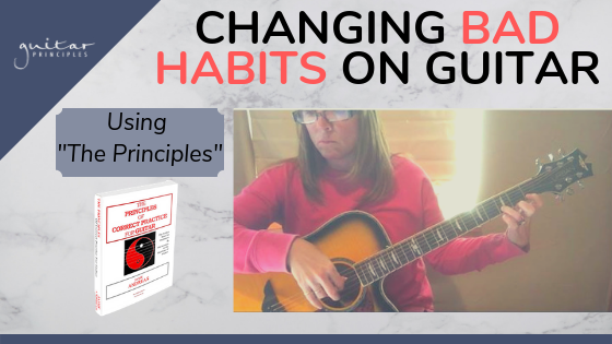 changing bad habits on guitar