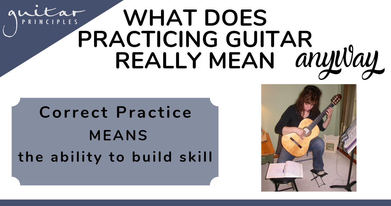 what does correct practice mean