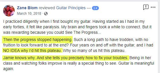 zane blom guitar class review