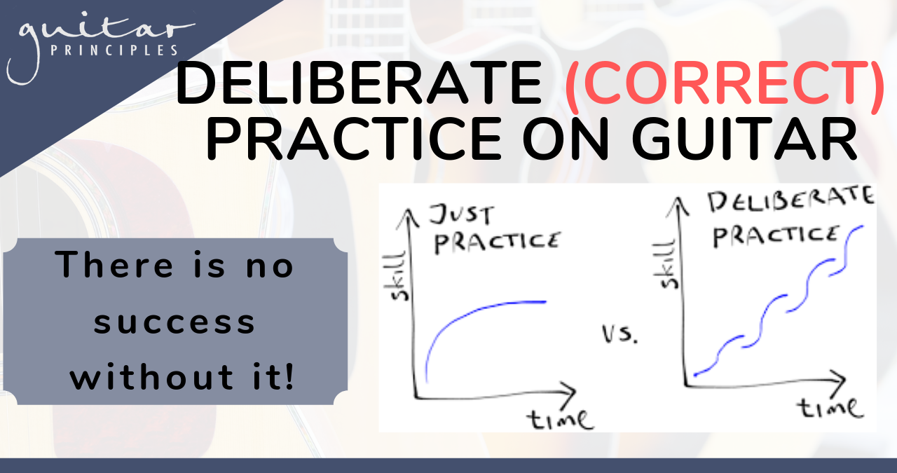 Deliberate Practice On Guitar