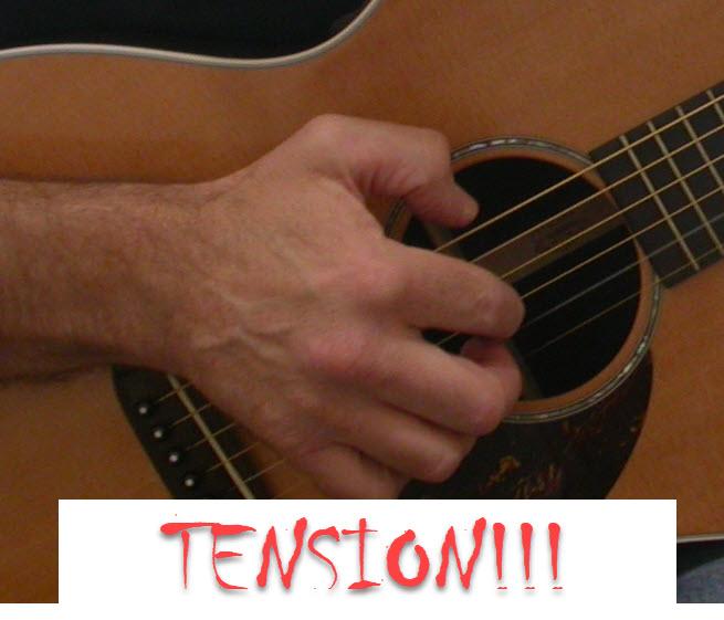 tense-hand