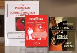 The Beginners Package For Guitar by Guitar Principles