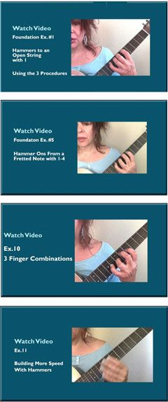 Hammers & Pulls Essential Training from Guitar Principles