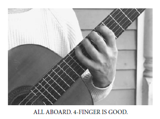 good guitar finger placement